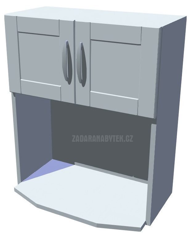 Horní skříňka Diana na mikrovlnku