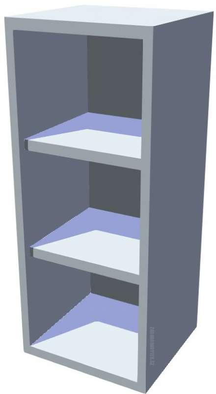 Horní policová kuchyňská skříňka 30 cm