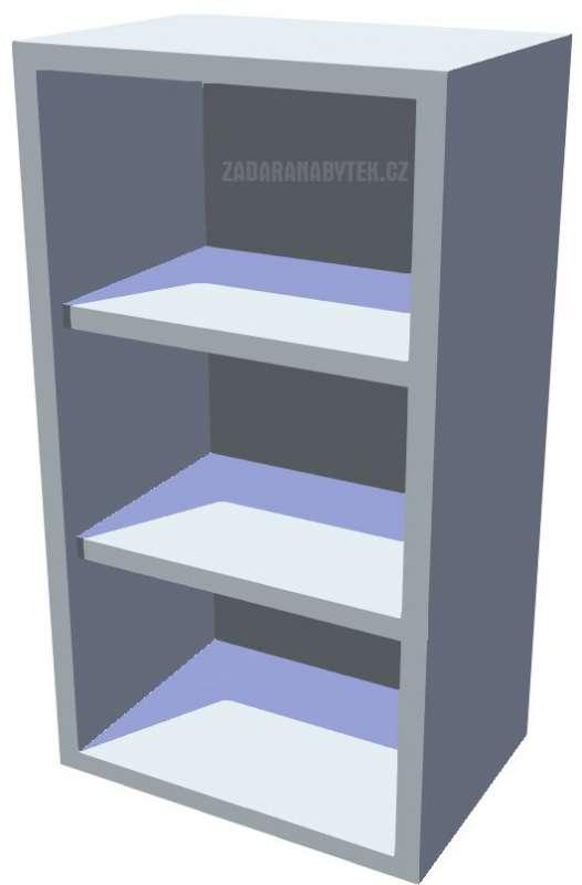 Horní policová kuchyňská skříňka 40 cm