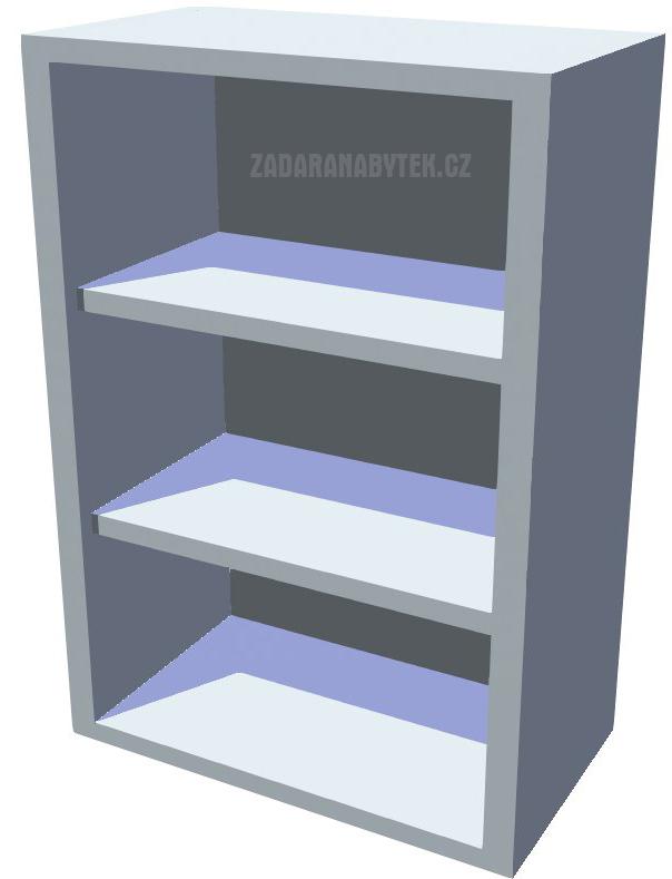 Horní policová kuchyňská skříňka 50 cm