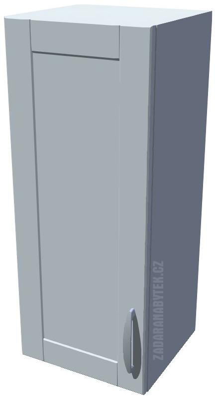 Horní kuchyňská skříňka 30 cm 1D