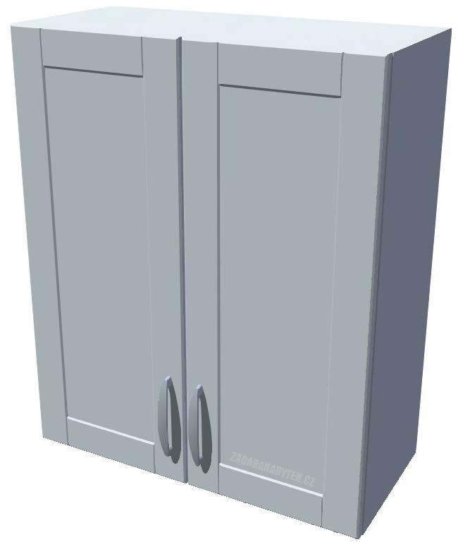 Horní kuchyňská skříňka 60 cm 2D