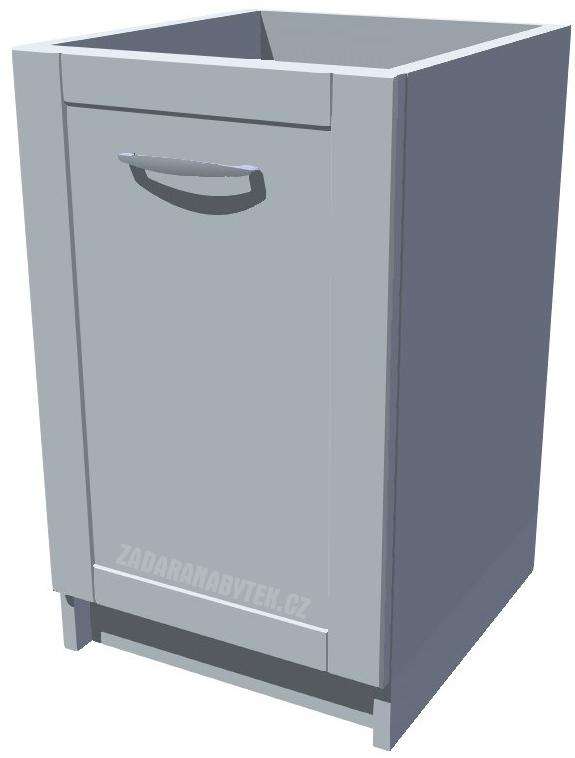 Spodní kuchyňská skříňka 50 cm drátěný program