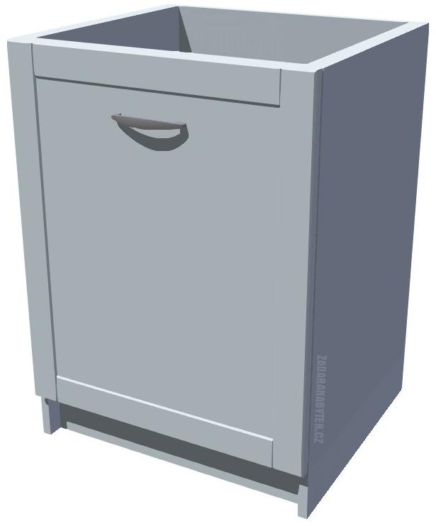 Spodní kuchyňská skříňka 60 cm drátěný program