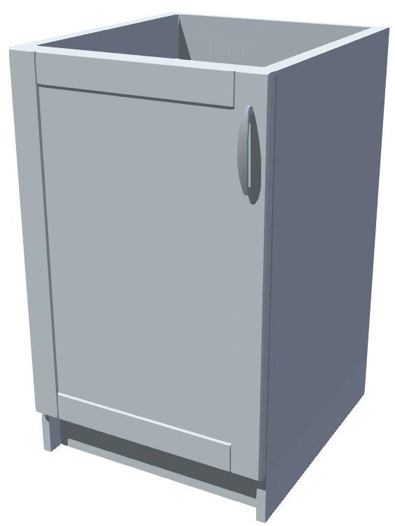 Dřezová kuchyňská skříňka 50 cm 1D dřez