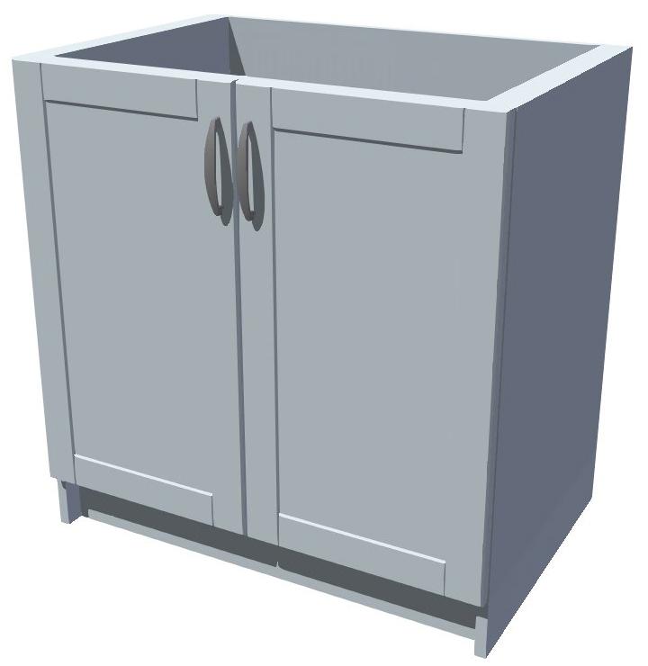 Dřezová kuchyňská skříňka 80 cm 2D dřez