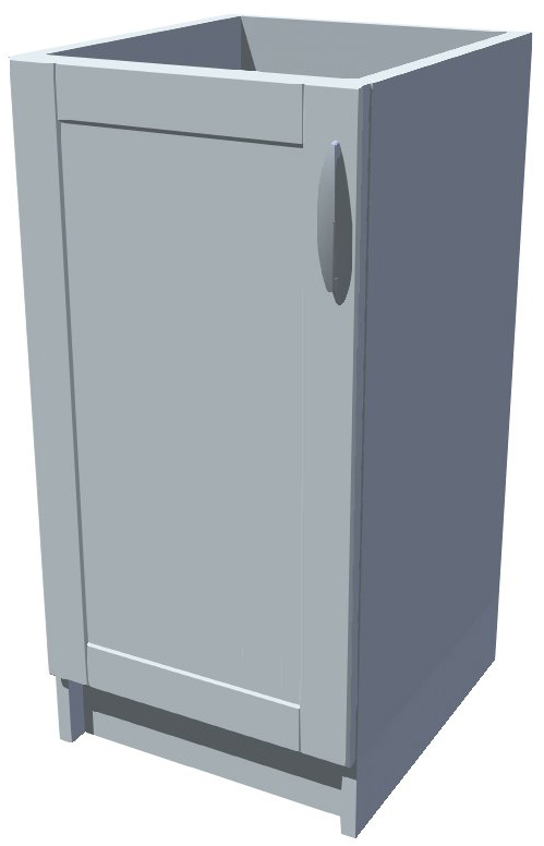 Spodní kuchyňská skříňka 40 cm 1D
