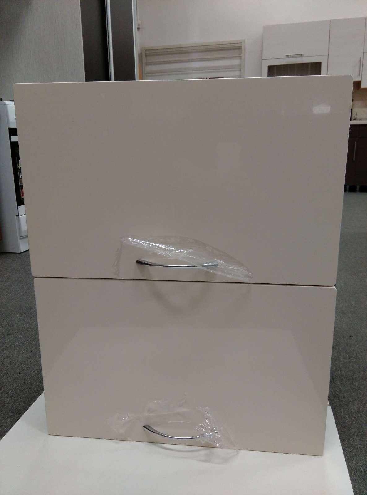 Horní skříňka dvojvýklopná 58 cm - výprodej