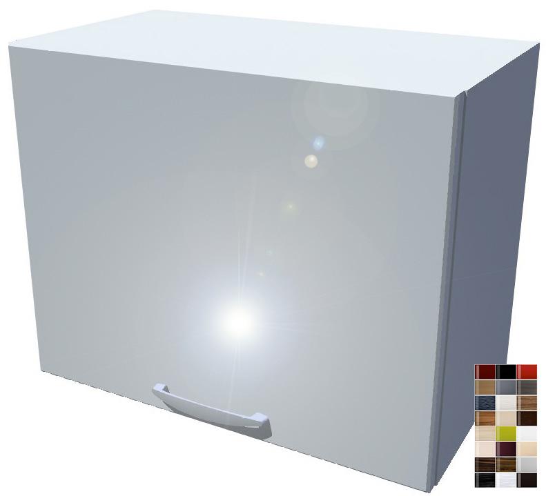Lesklá výklopná skříňka 50 cm