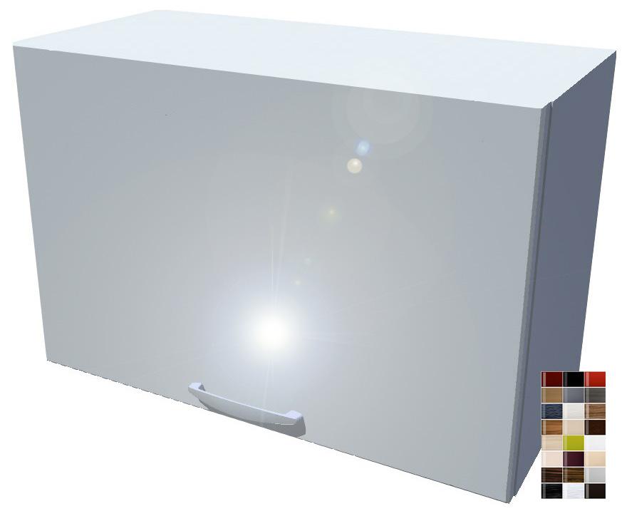 Lesklá výklopná skříňka 60 cm