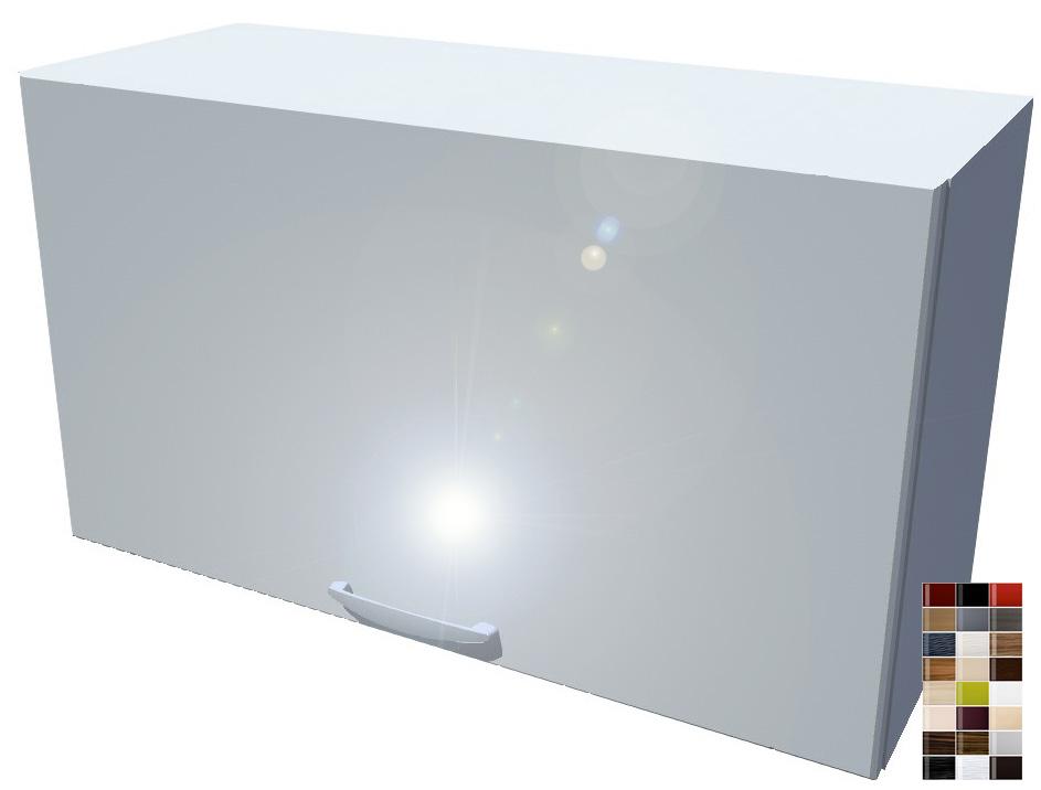 Lesklá výklopná skříňka 70 cm