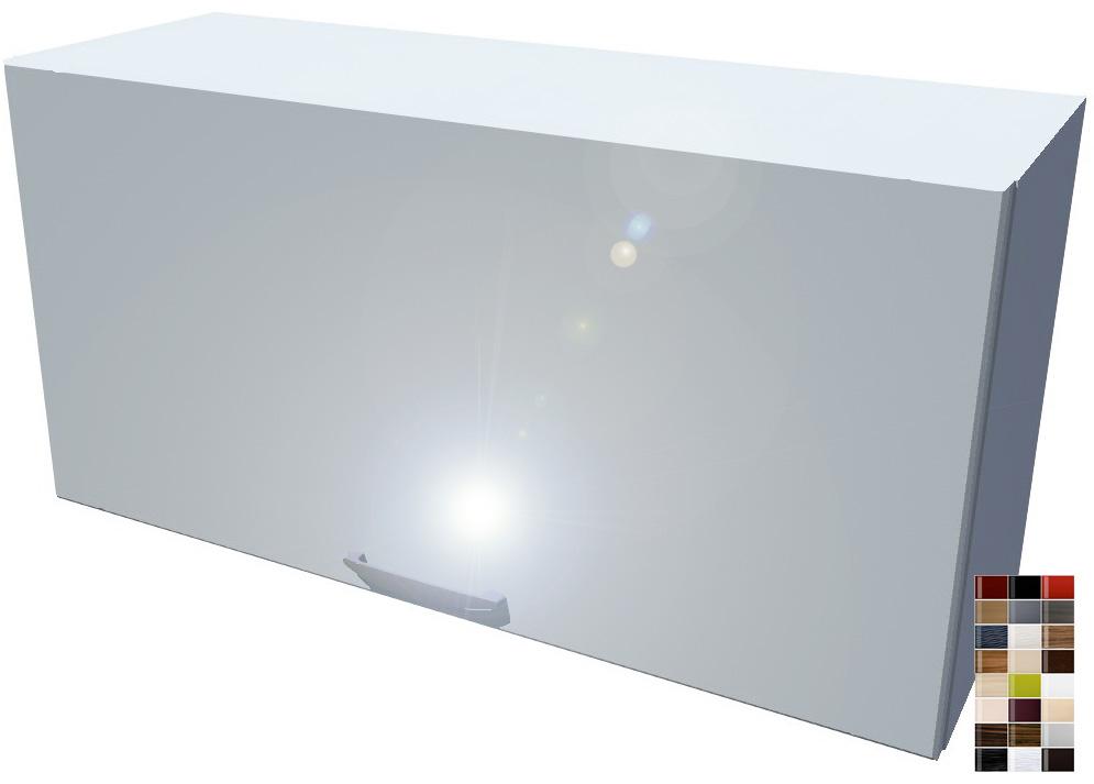 Lesklá výklopná skříňka 80 cm
