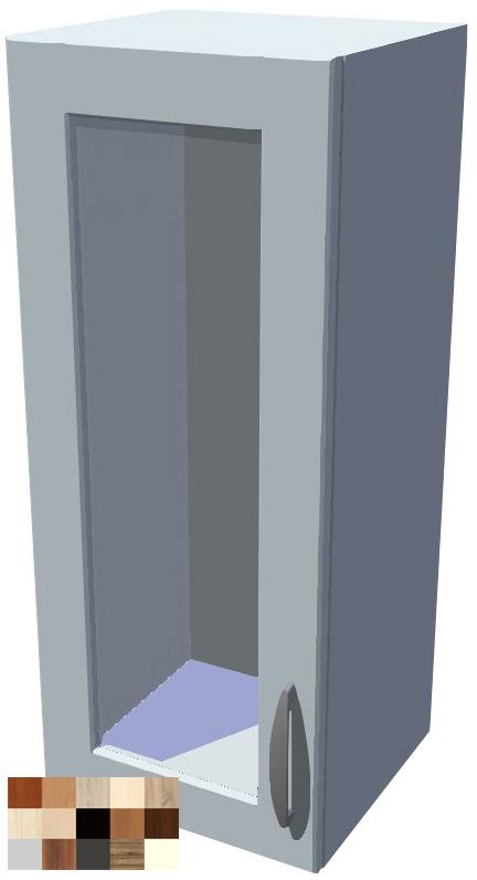 Horní skříňka Tina vitrína 1D 30 cm