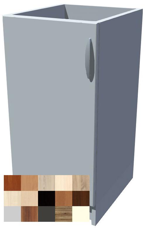 Dolní jednodveřová skříňka Tina 40 cm