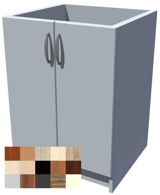 Dolní dvoudveřová skříňka Tina 60 cm
