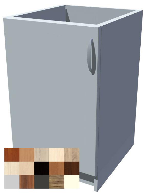 Dřezová kuchyňská skříňka Tina 1D 50 cm