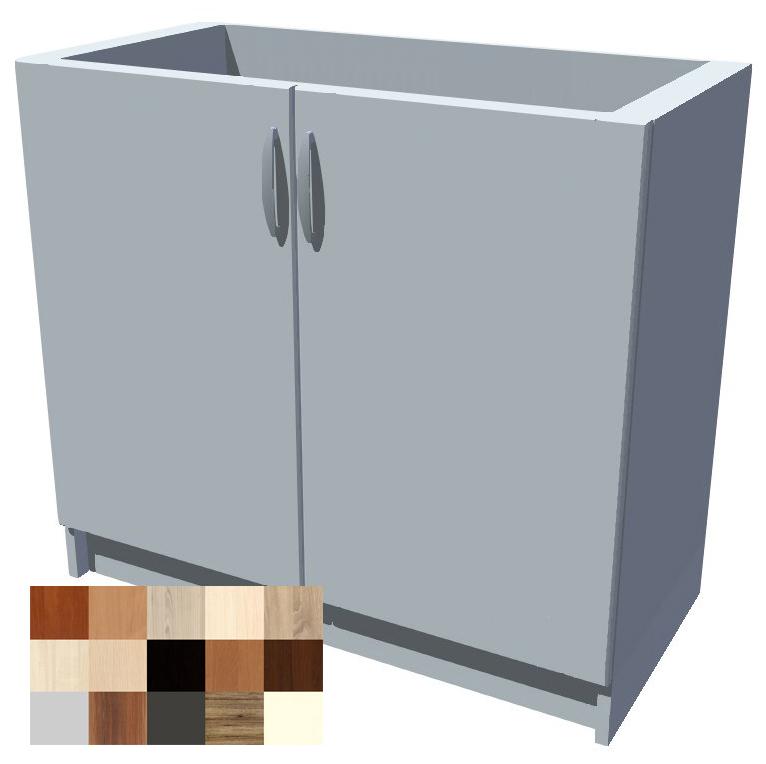 Dřezová kuchyňská skříňka Tina 2D 90 cm