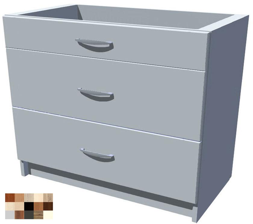 Kuchyňské šuplíky Tina 100 cm