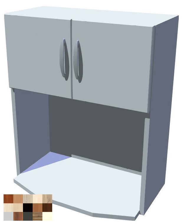 Horní skříňka Tina na mikrovlnku