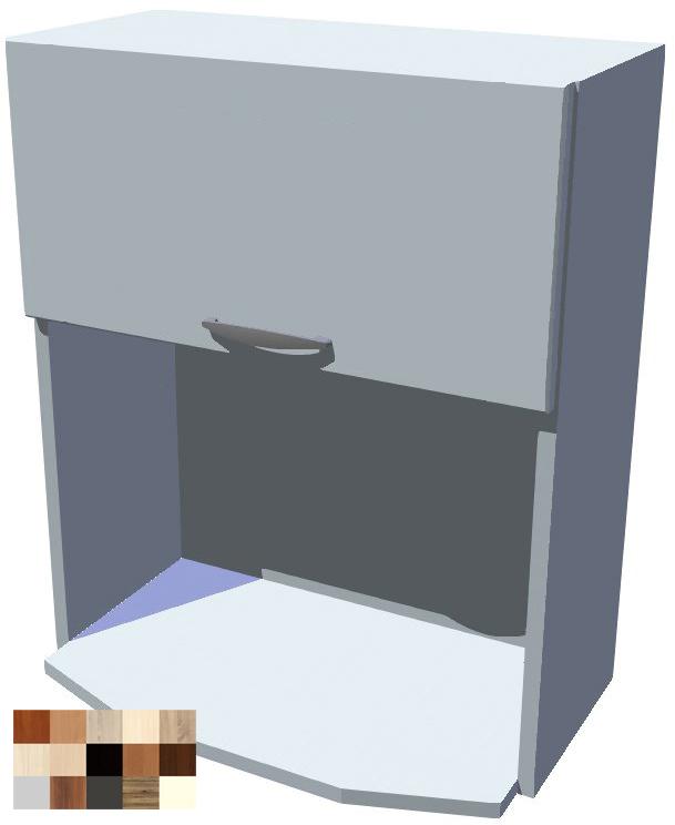 Horní skříňka Tina na mikrovlnku - výklop