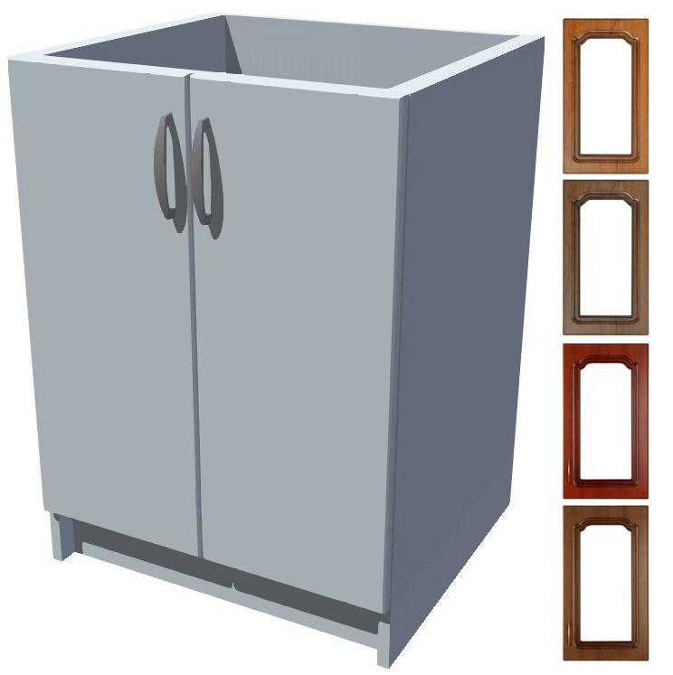 Rustikální dřezová kuchyňská skříňka Bolero 60 2D