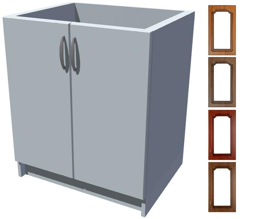 Rustikální dřezová kuchyňská skříňka Bolero 70 2D