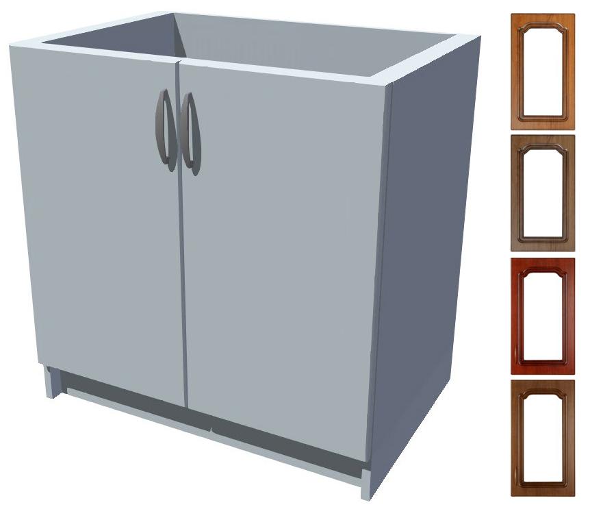 Rustikální dřezová kuchyňská skříňka Bolero 80 2D