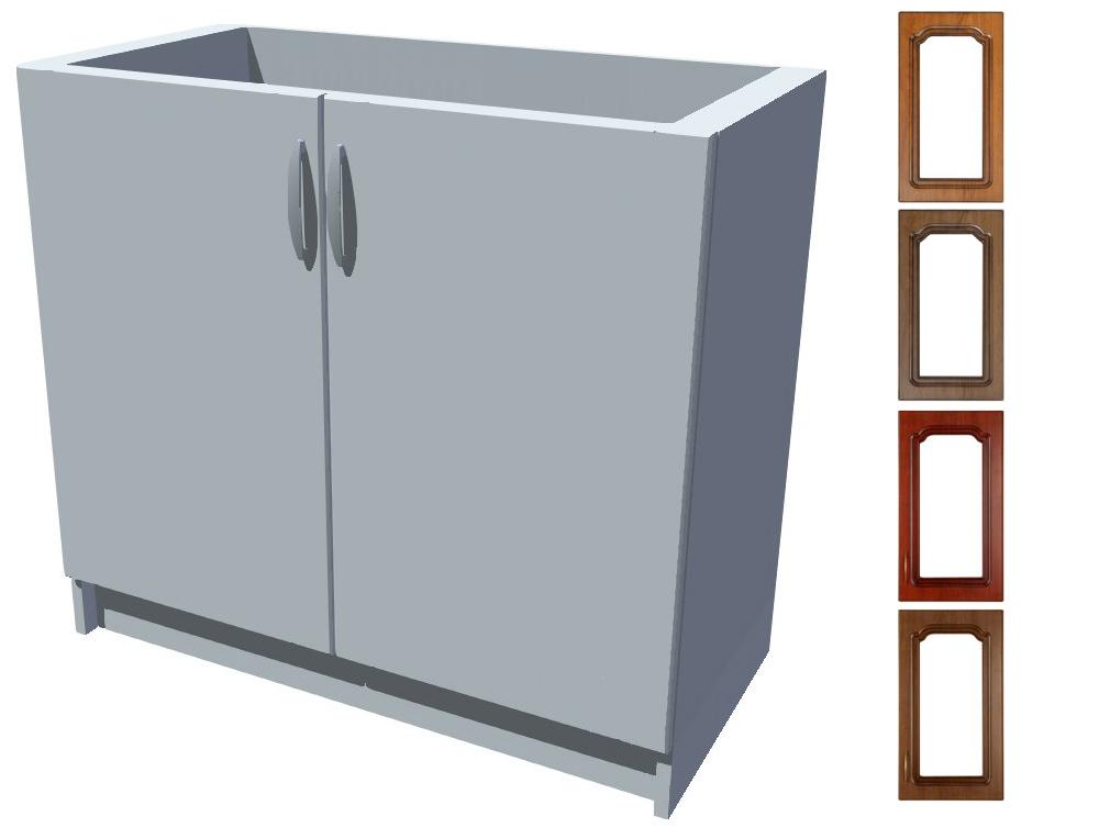 Rustikální dřezová kuchyňská skříňka Bolero 90 2D