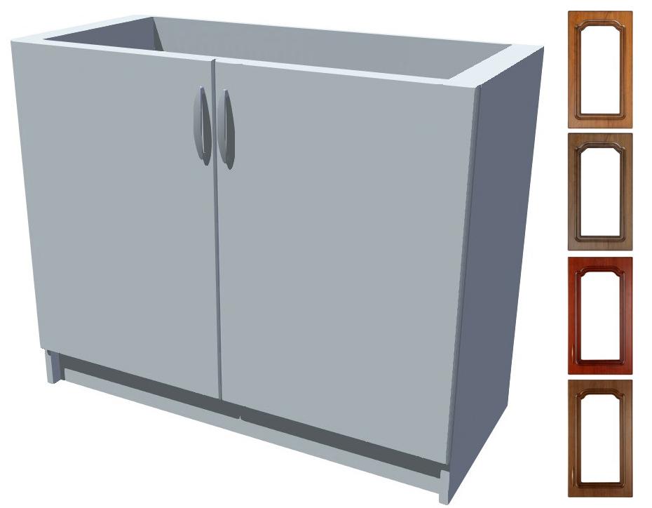 Rustikální dřezová kuchyňská skříňka Bolero 100 2D