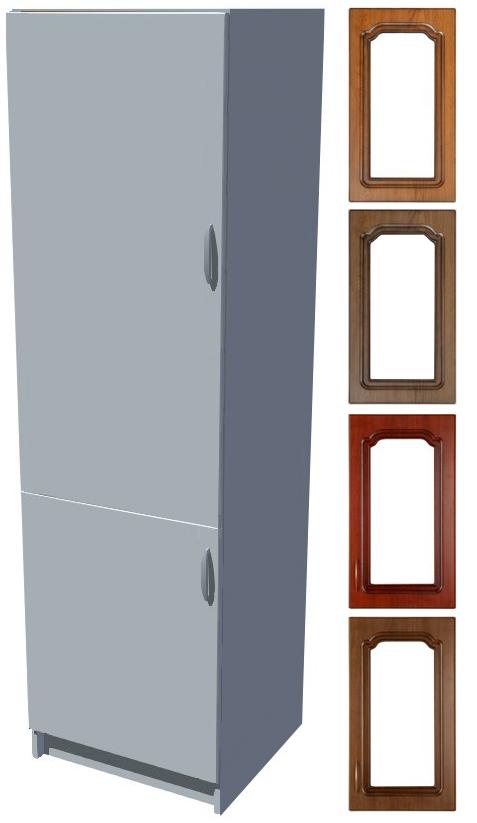 Rustikální skříň Bolero na vestavnou lednici