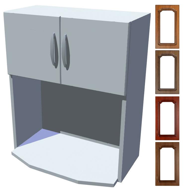 Rustikální skříňka Bolero na mikrovlnku