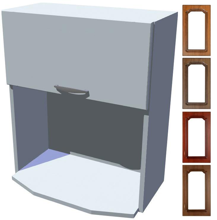 Rustikální skříňka Bolero na mikrovlnku výklop