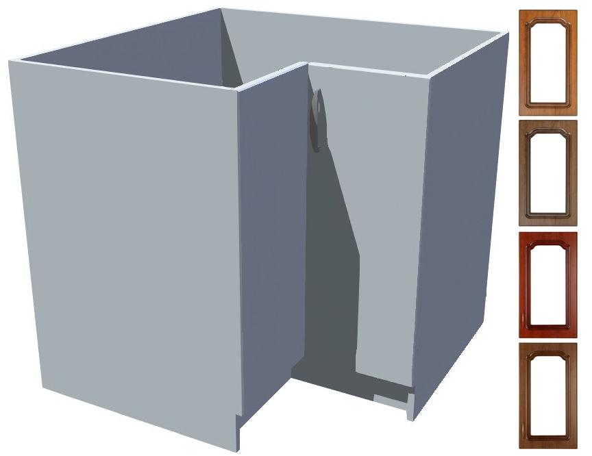 Rustikální spodní rohová skříňka Bolero