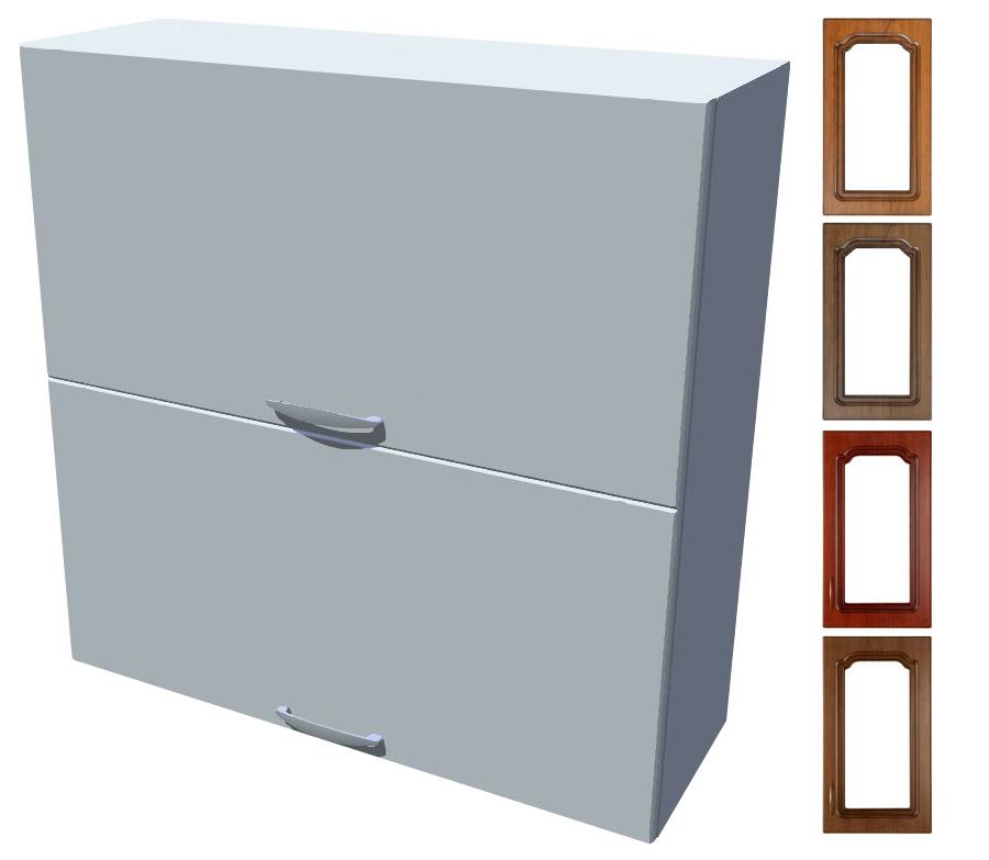 Rustikální skříňka dvojitý výklop Bolero 80 cm