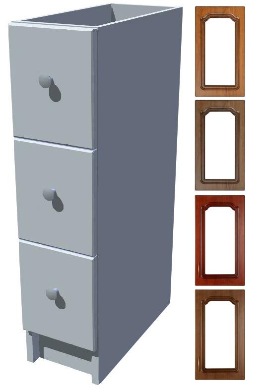 Rustikální šuplíky Bolero 20 cm