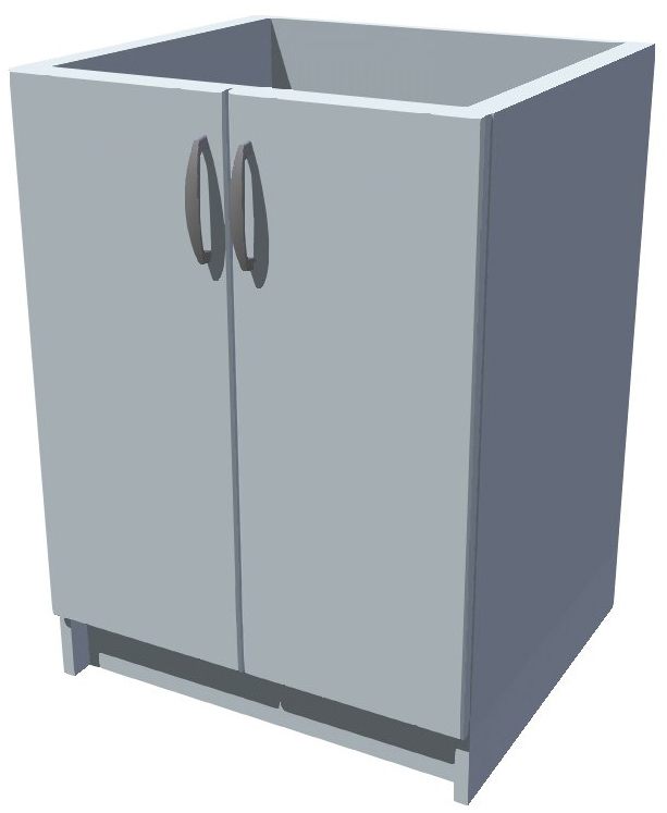 Spodní kuchyňská skříňka 60 cm 2D