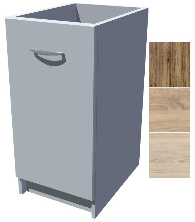 Spodní kuchyňská skříňka Iga 40 cm drátěný program s dotahem