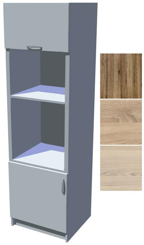 Kuchyňská skříň Iga na vestavěnou troubu a mikrovlnku