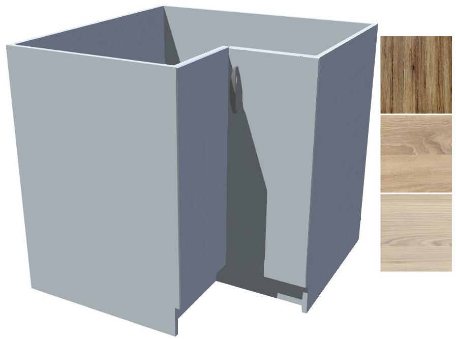 Spodní rohová skříňka Iga s košem