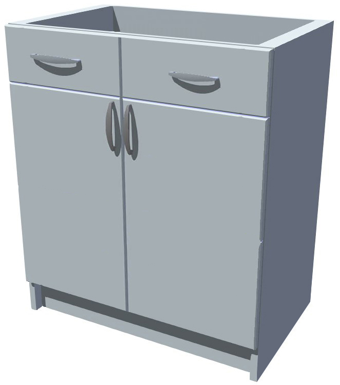Spodní skříňka Diana 2D se šuplíky 60 cm