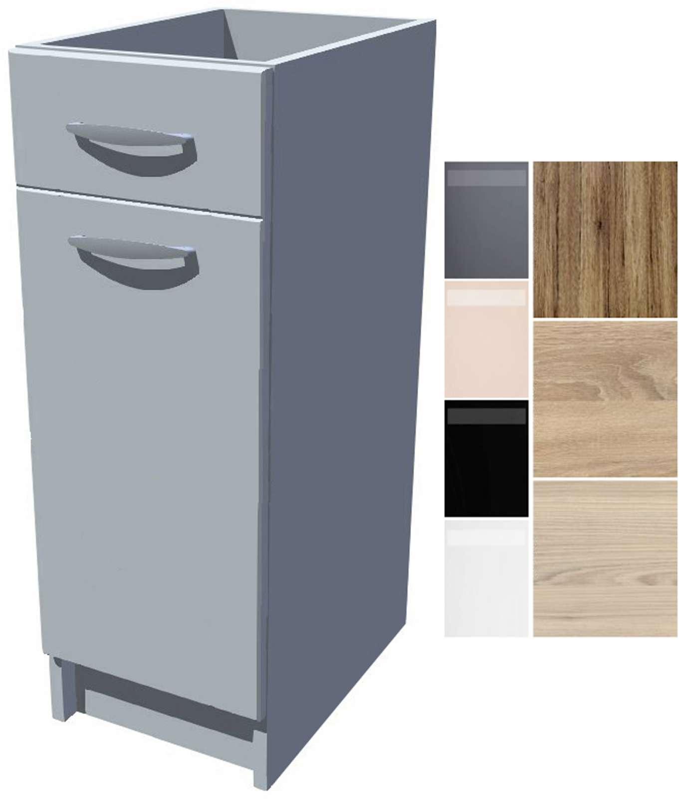 Spodní kuchyňská skříňka Iga 30 cm s šuplíkem