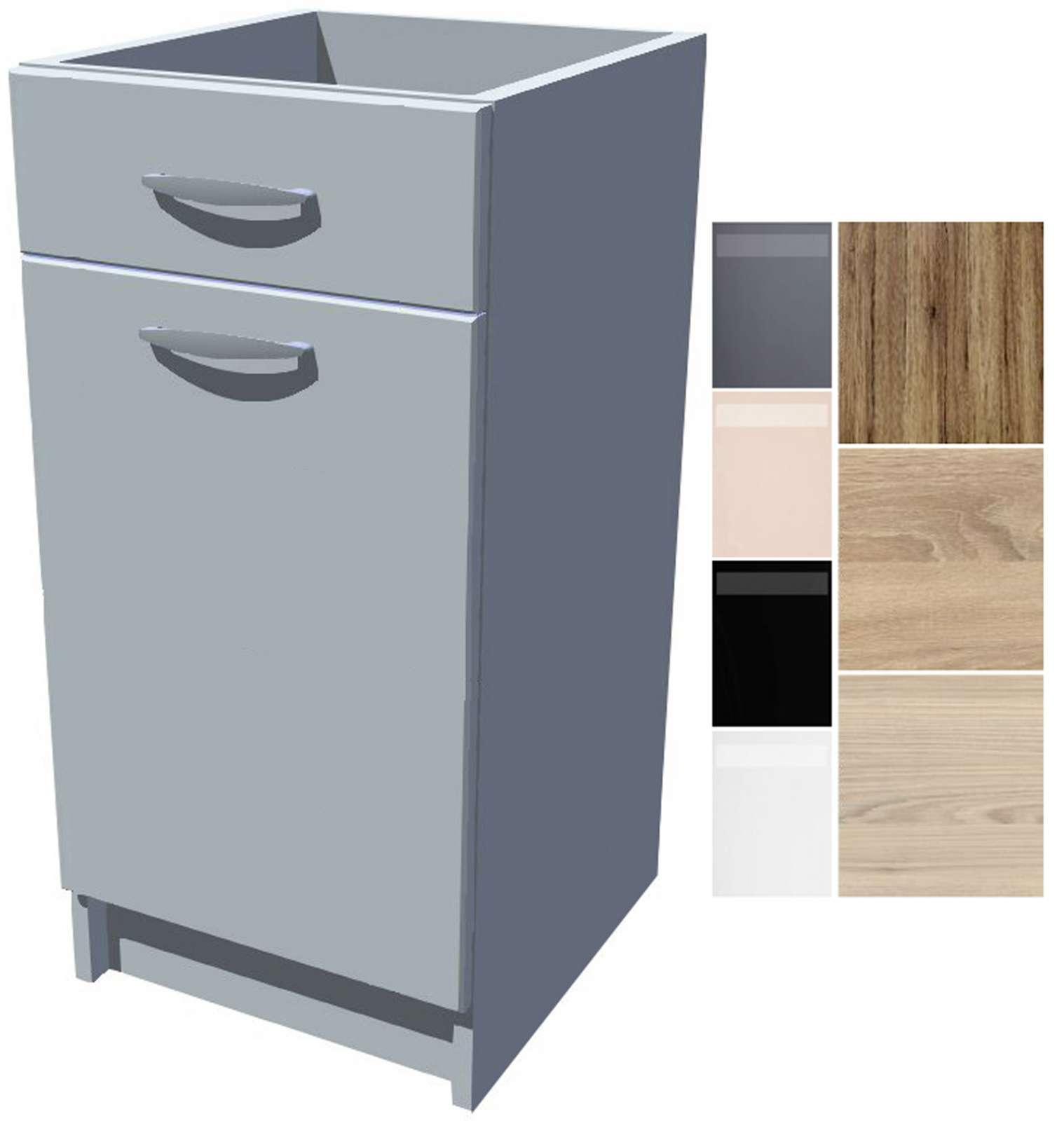 Spodní kuchyňská skříňka Iga 40 cm s šuplíkem