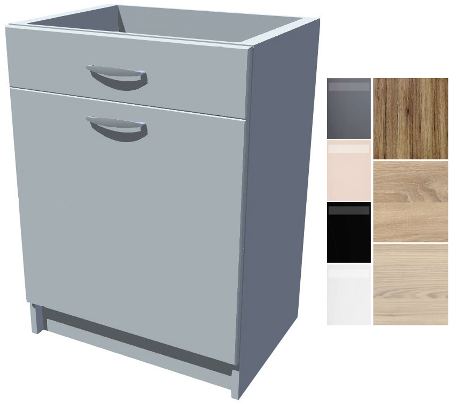 Spodní kuchyňská skříňka Iga 60 cm s šuplíkem