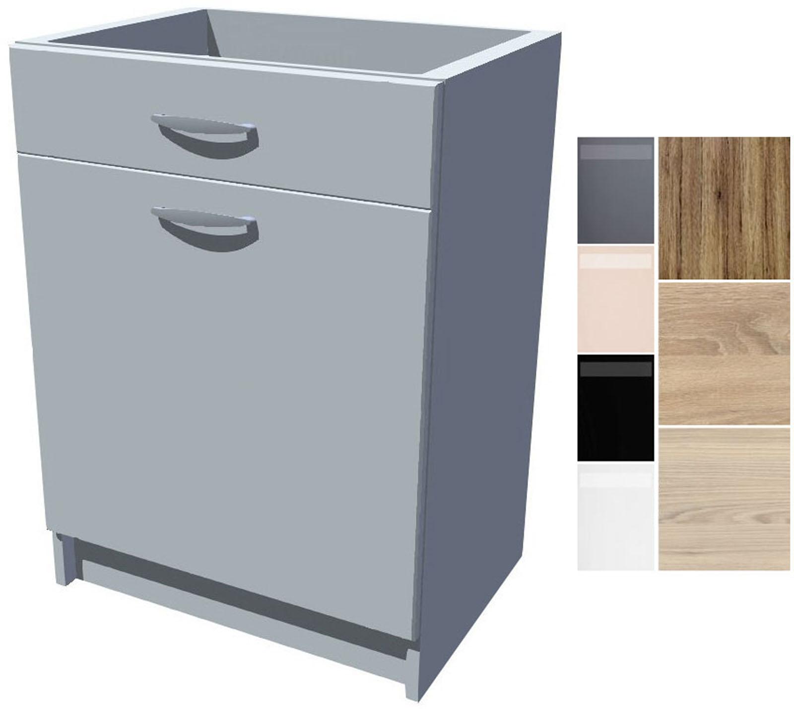 Dřezová kuchyňská skříňka Iga 1D 50 cm