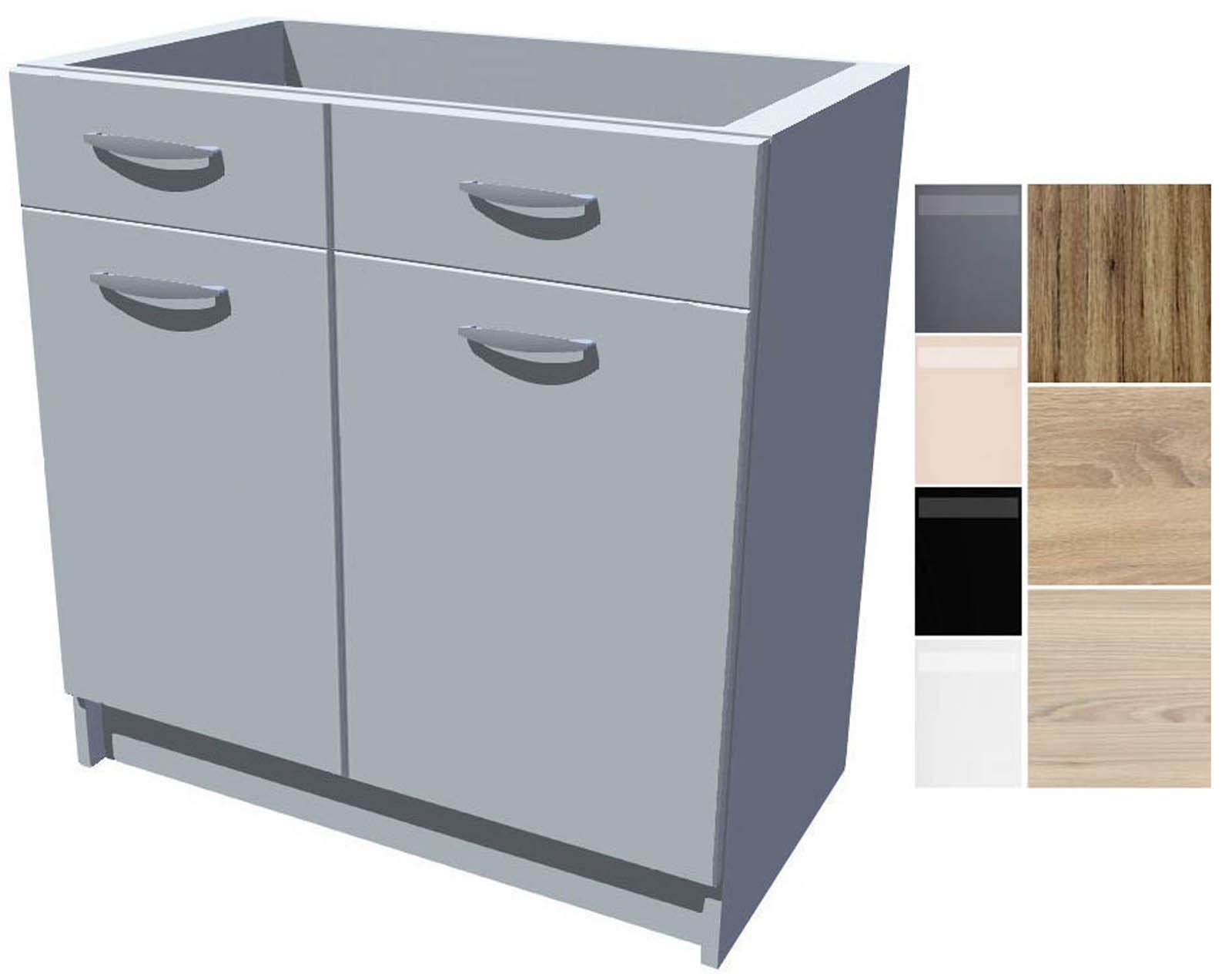 Dřezová kuchyňská skříňka Iga 2D 80 cm