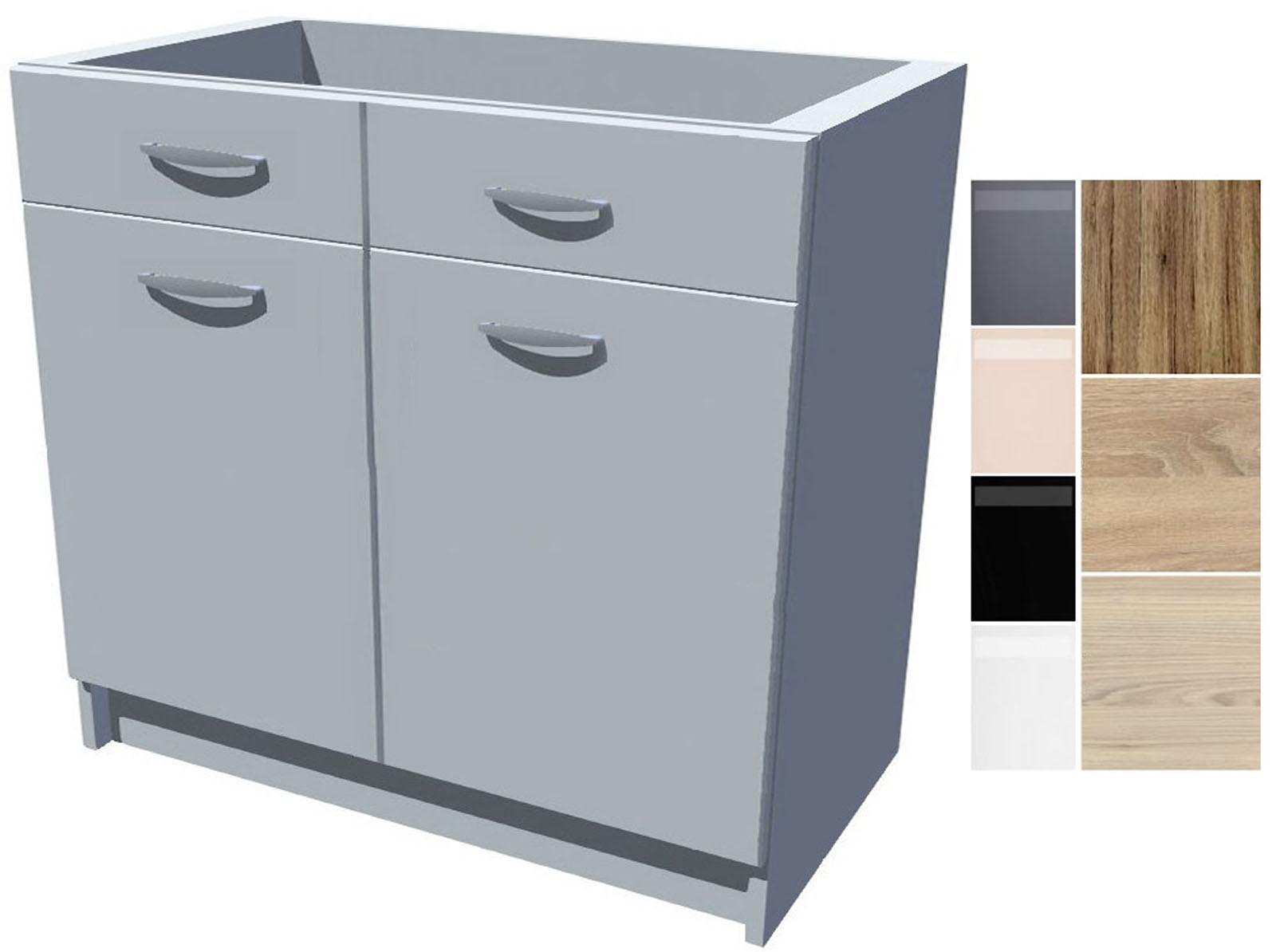 Dřezová kuchyňská skříňka Iga 2D 90 cm
