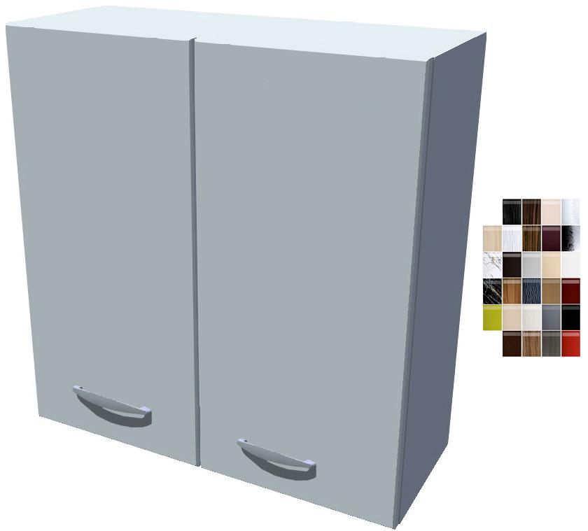 Lesklá horní skříňka 70 cm