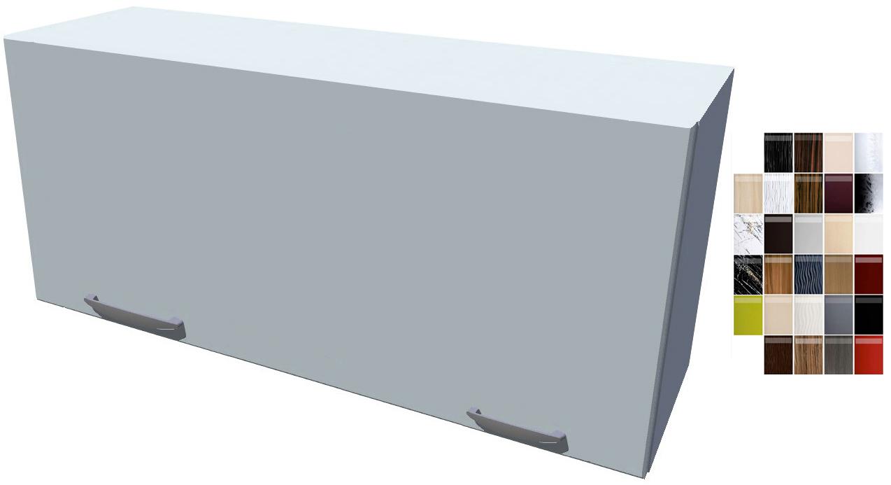 Lesklá výklopná skříňka 90 cm