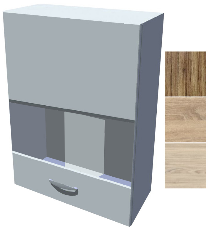 Horní skříňka - vitrína Iga 50 cm 1D