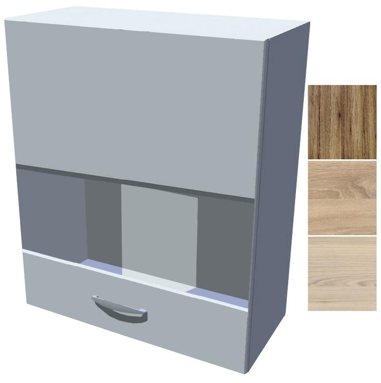Horní skříňka - vitrína Iga 60 cm 1D